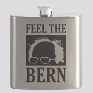 Feel the Bern [Hair] Flask